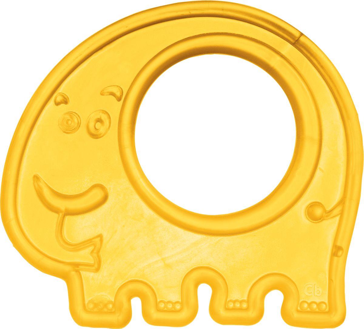 Canpol Babies Прорезыватель Слоник цвет желтый canpol babies прорезыватель уточка от 0 месяцев цвет желтый