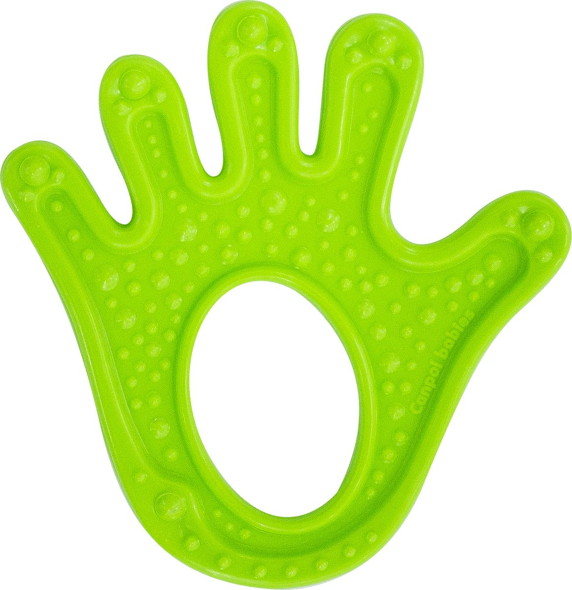 Canpol Babies Прорезыватель Ладошка цвет зеленый недорого