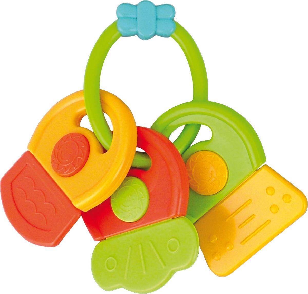 Canpol Babies Погремушка-прорезыватель Ключи с символами canpol babies погремушка прорезыватель ключи с символами цвет голубой зеленый