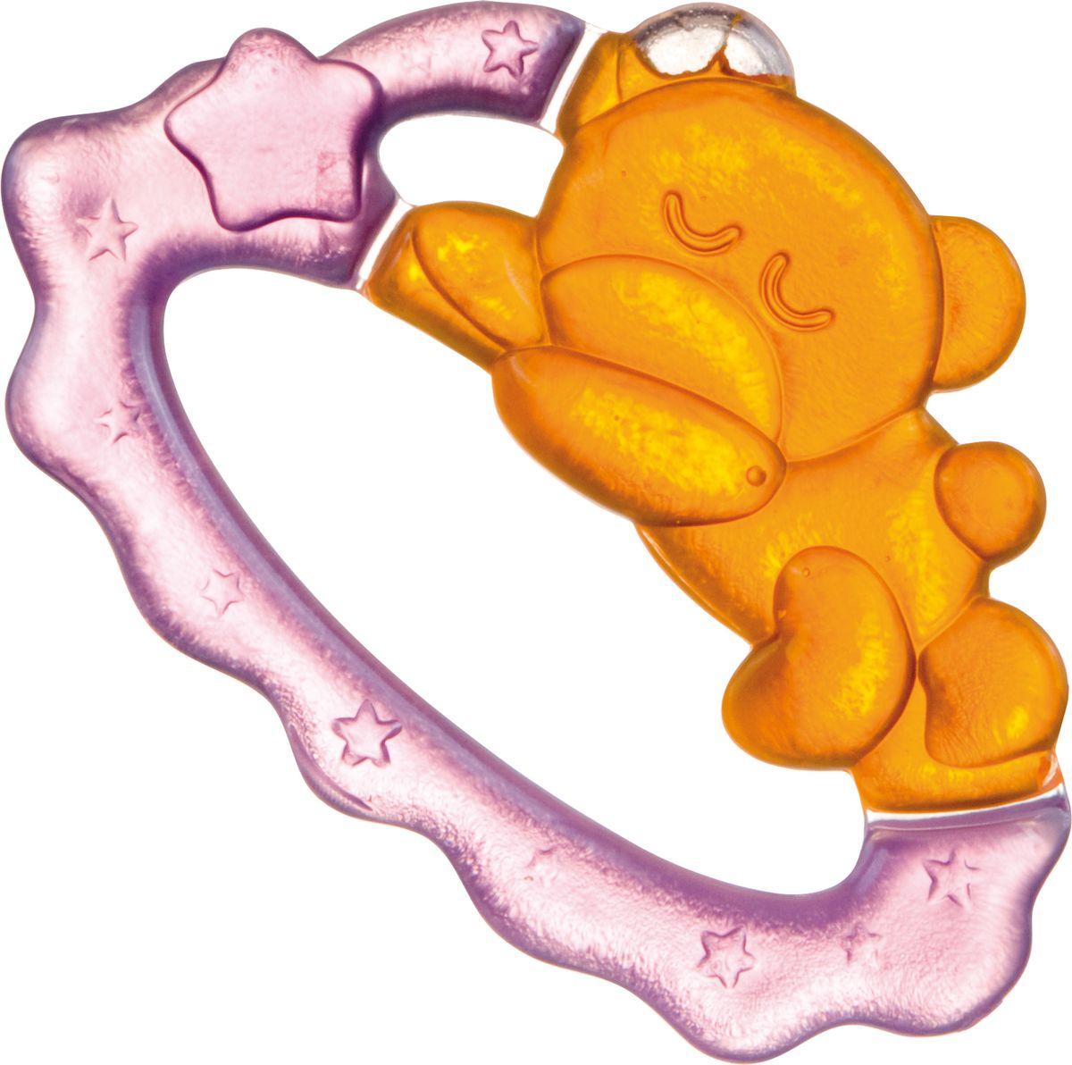 Canpol Babies Прорезыватель охлаждающий Спящий медвежонок цвет желтый прорезыватели canpol охлаждающий спящий медвежонок 2 242