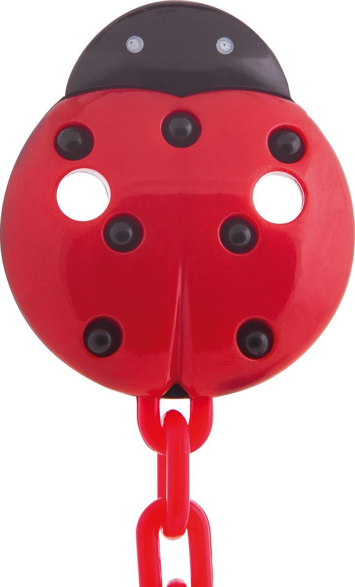 Canpol Babies Клипса-держатель для пустышки цвет красный canpol babies клипса держатель для пустышки самолетик