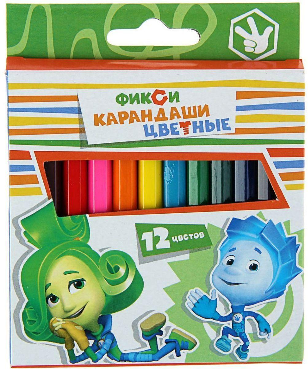 Фиксики Набор карандашей 12 цветов104108Набор Фиксики состоит из 12 деревянных цветных карандашей, которые откроют юным художникам новые горизонты для творчества, а также помогут отлично развить мелкую моторику рук, фантазию и воображение. Рекомендуем!
