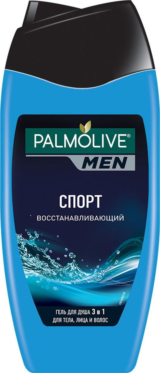 Palmolive Men Гель для душа и шампунь 3 в 1 Спорт, восстанавливающий, мужской, 250 мл спорт товар uz