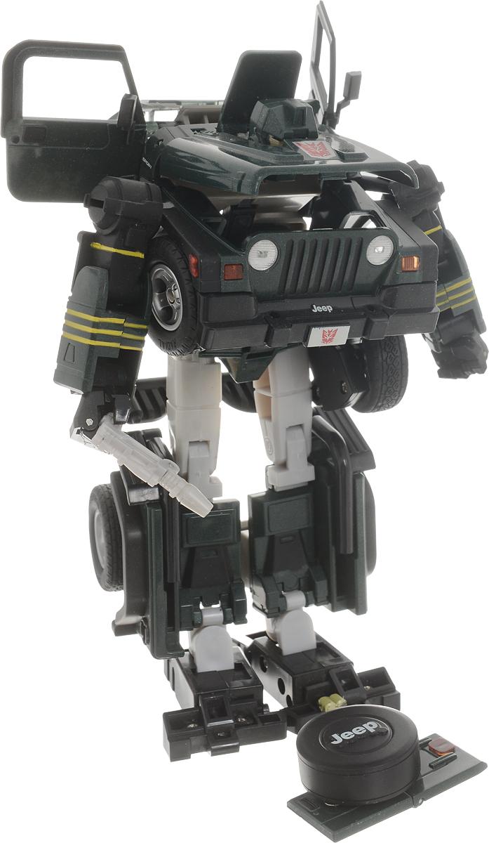 Склад уникальных товаров Робот-трансформер Джип XXL цвет темно-зеленый yako робот трансформер цвет желтый зеленый
