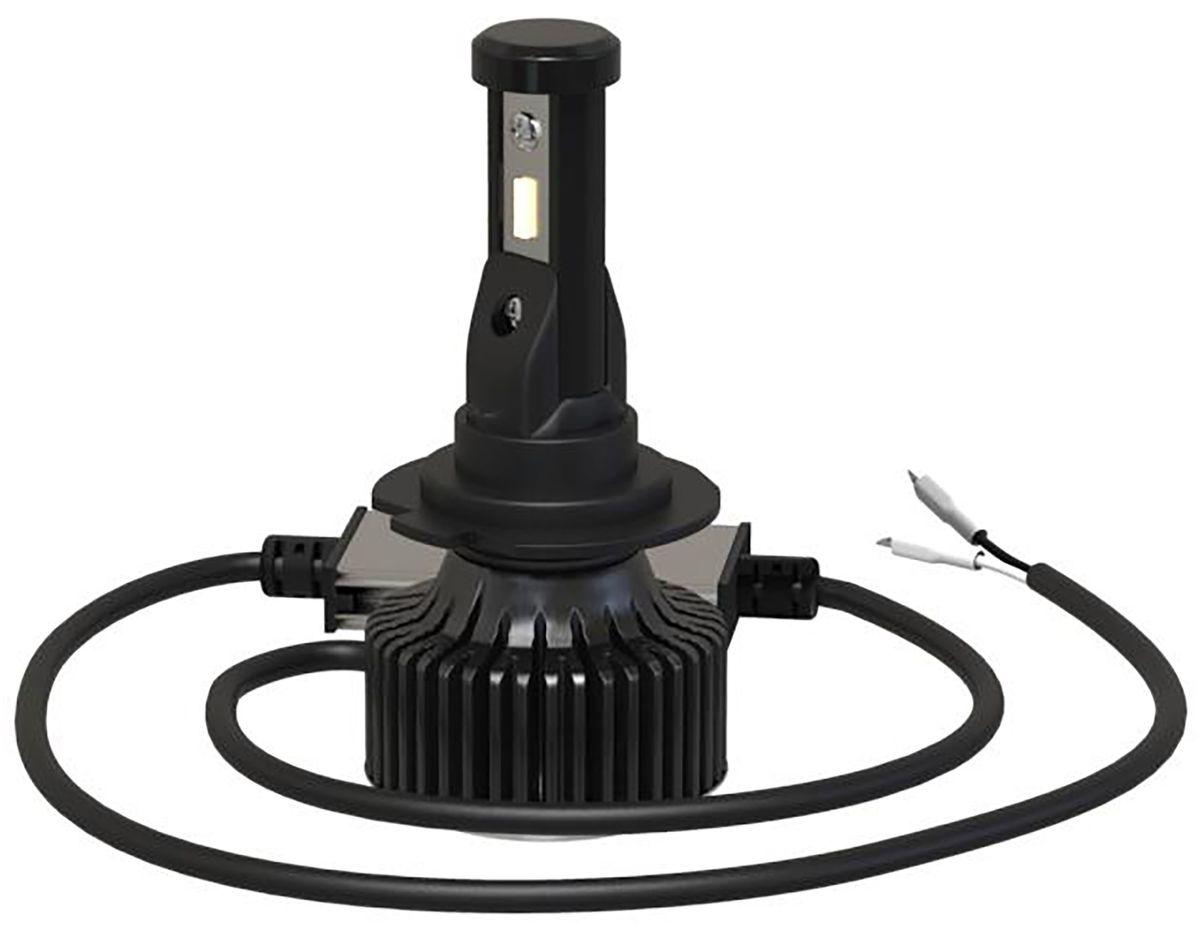Лампа автомобильная светодиодная Clearlight Laser Vision, цоколь H27, 2800 Лм, 2 шт
