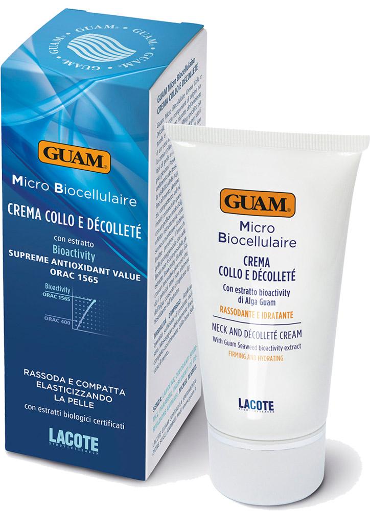 Крем для области шеи и декольте guam micro biocellulaire крем для области шеи и декольте micro biocellulaire крем для области шеи и декольте