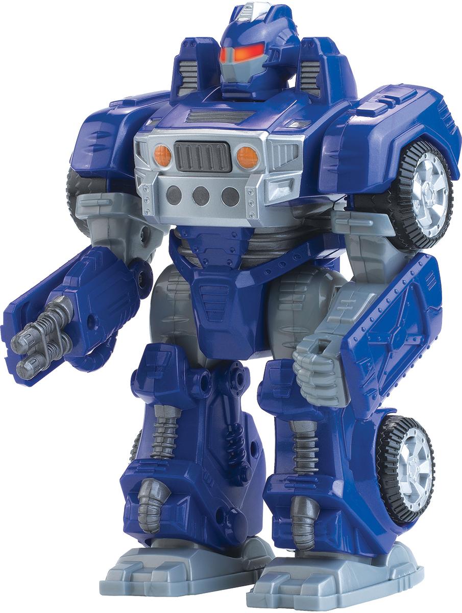 Happy Kid Робот-трансформер цвет синий робот воин черный hap p kid