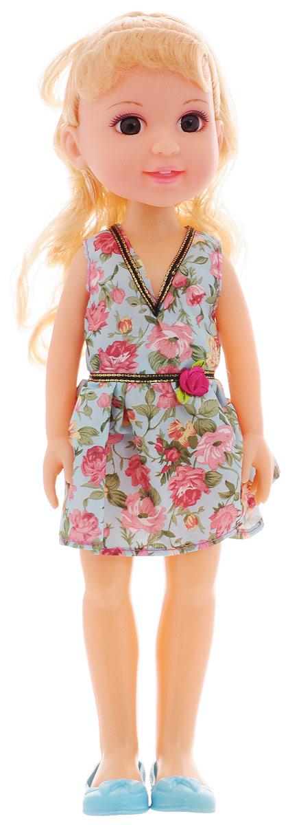 ABtoys Кукла Времена года цвет платья голубой зеленый
