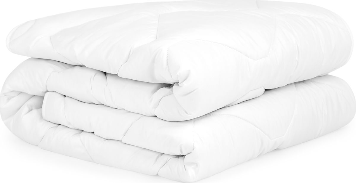 Одеяло Daily by T Эвкалипт, наполнитель: полиэфирное волокно, цвет: белый, 200 х 210 см одеяла daily by t одеяло шерстяное всесезонное 140х200 см