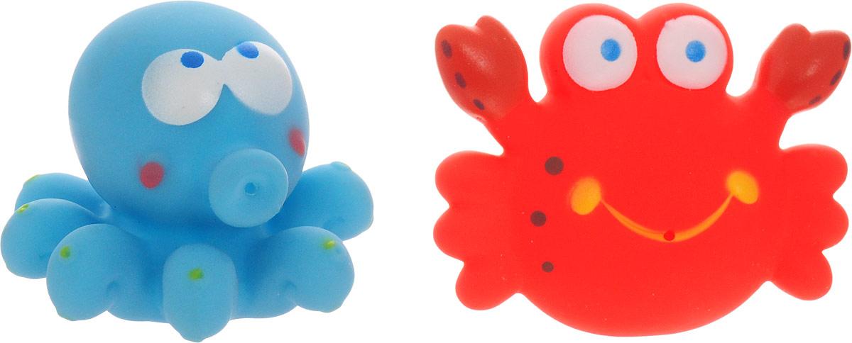 AВtoys Игрушка-брызгалка Осьминог и краб игрушки для ванны hap p kid игрушка для купания брызгалка пингвиненок