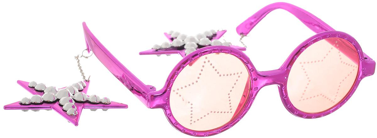 Partymania Очки для вечеринок Звезды цвет фиолетовый partymania очки для вечеринок губы