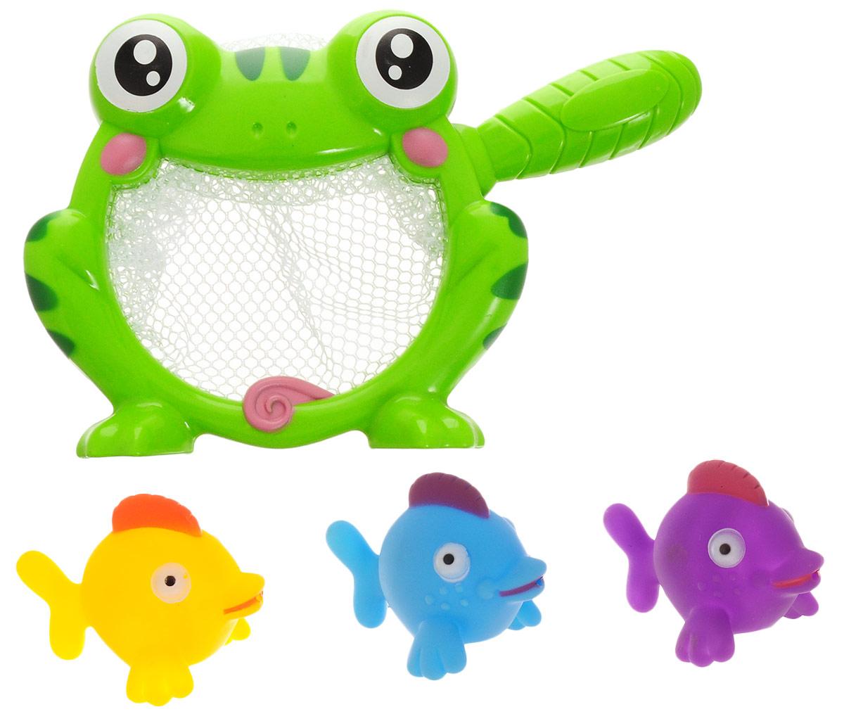 ABtoys Игрушка для ванной Сачок с игрушками вид 1