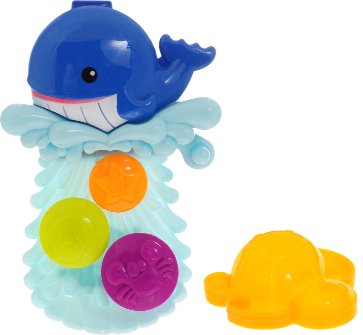 Игрушка для ванной ABtoys Кит-мельница, цвет в ассортименте игрушки для ванны fun time игрушка для ванной лодка морская звезда кит 5027