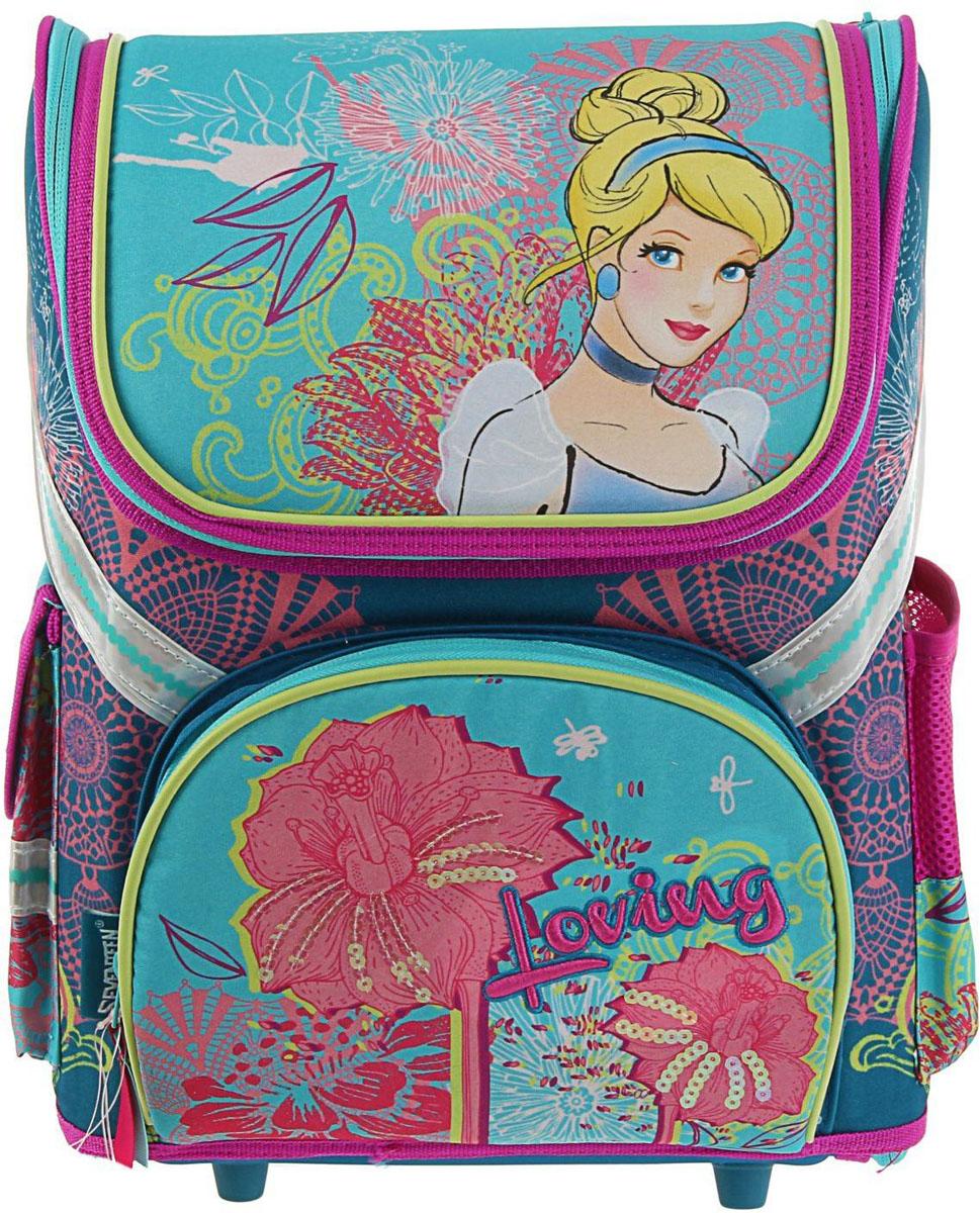 Disney Ранец школьный Принцесса 1117463 disney ранец школьный феи и невиданный зверь