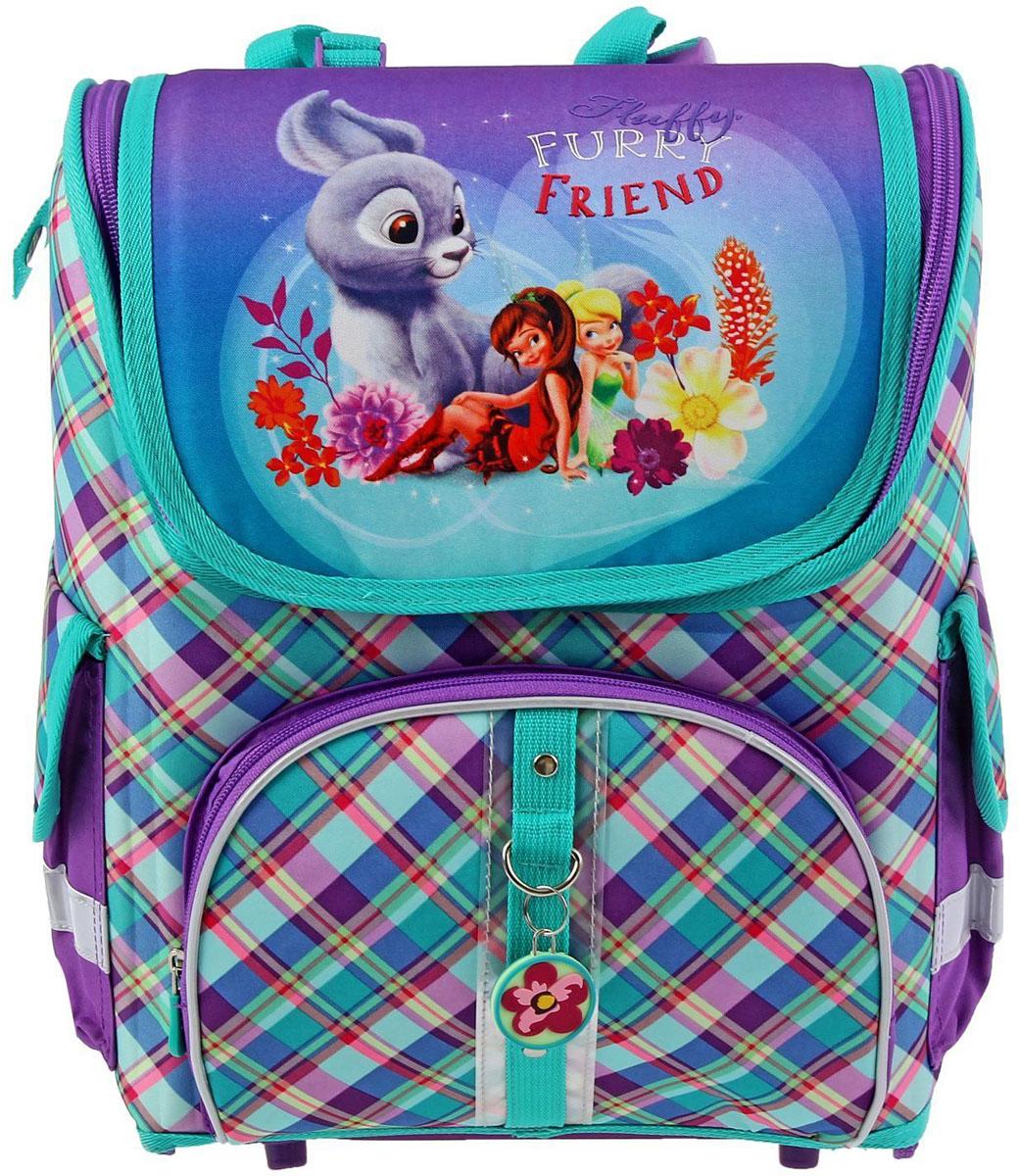 Disney Ранец школьный Феи и невиданный зверь disney ранец школьный феи и невиданный зверь