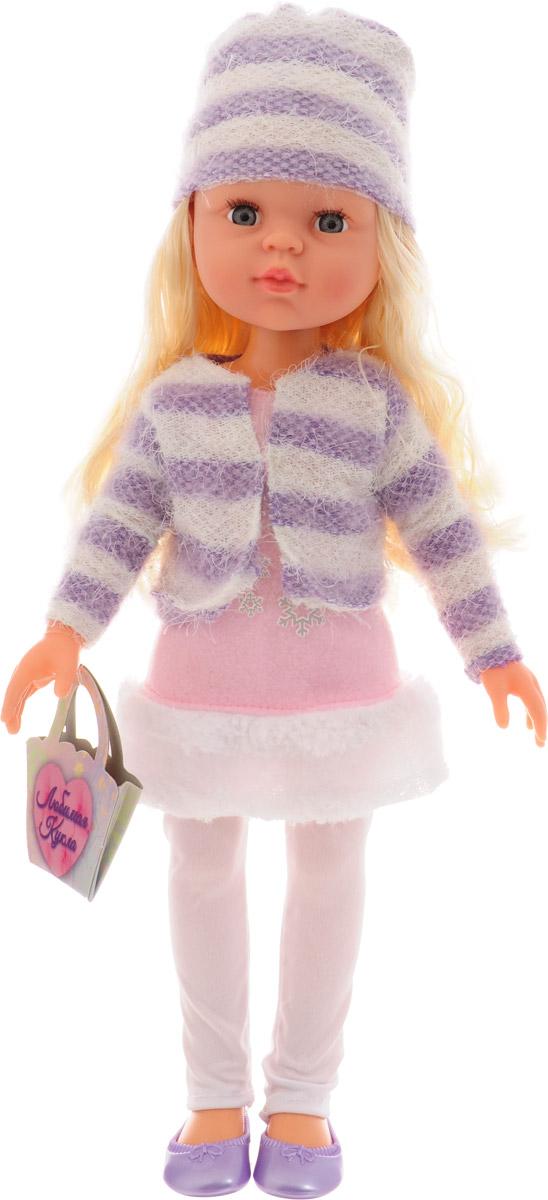 Abtoys Кукла Времена года цвет костюма белый фиолетовый