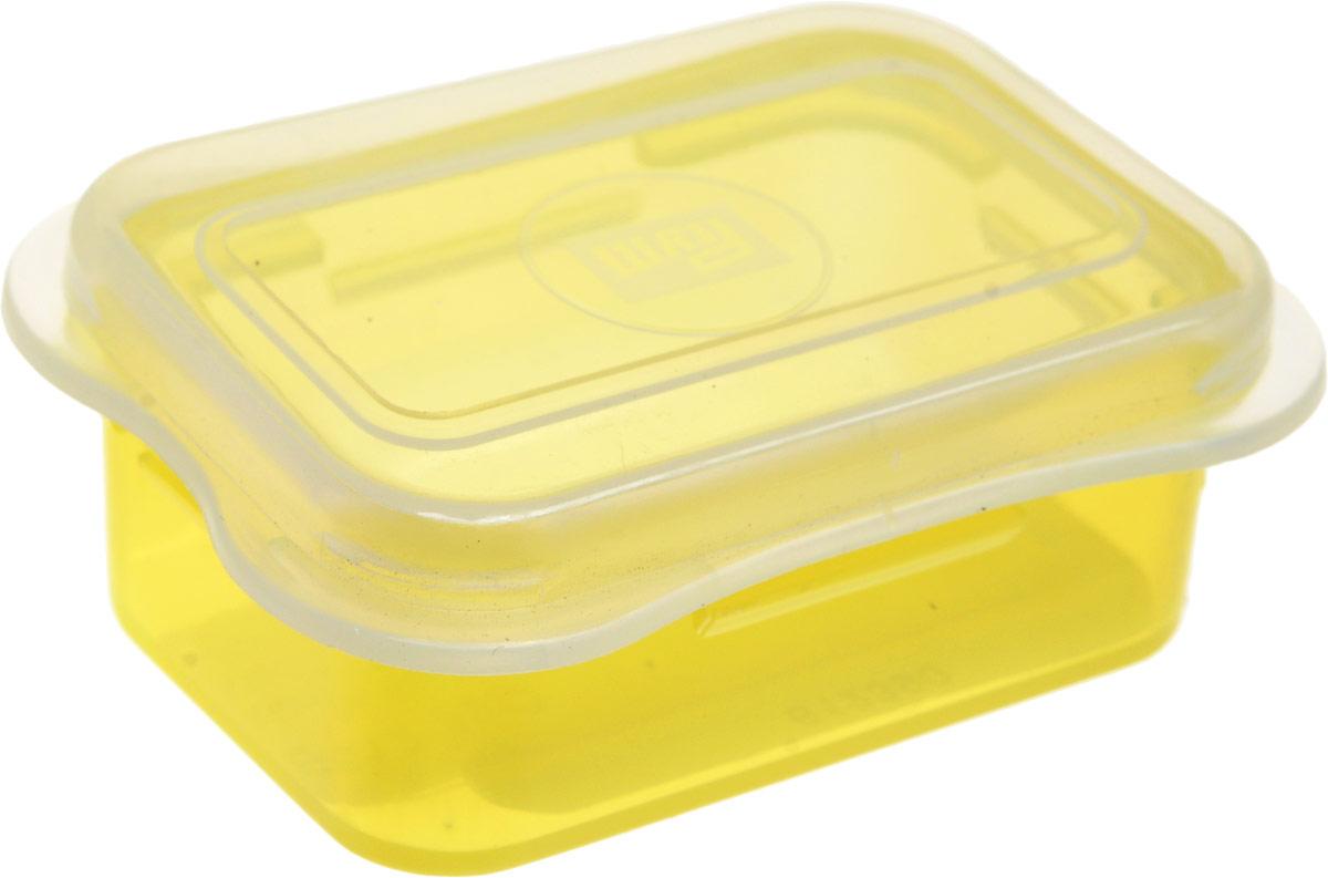 Органайзер для рукоделия Prym Мини, цвет: желтый, размер S (62 х 45 х 23 мм) кейс для рукоделия prym цвет коричневый
