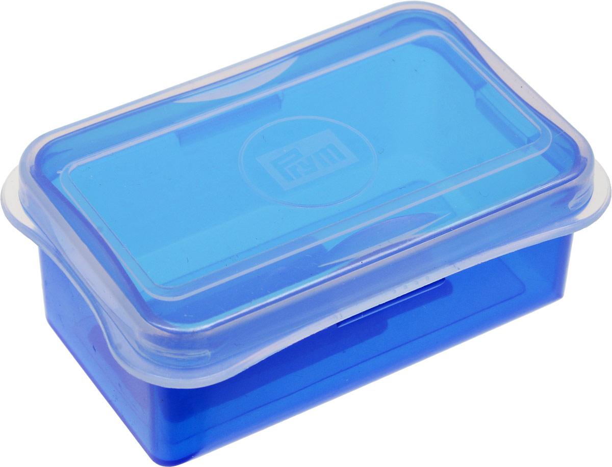 Органайзер для рукоделия Prym Мини, цвет: синий, размер L (88 х 59 х 35 мм) кейс для рукоделия prym цвет коричневый