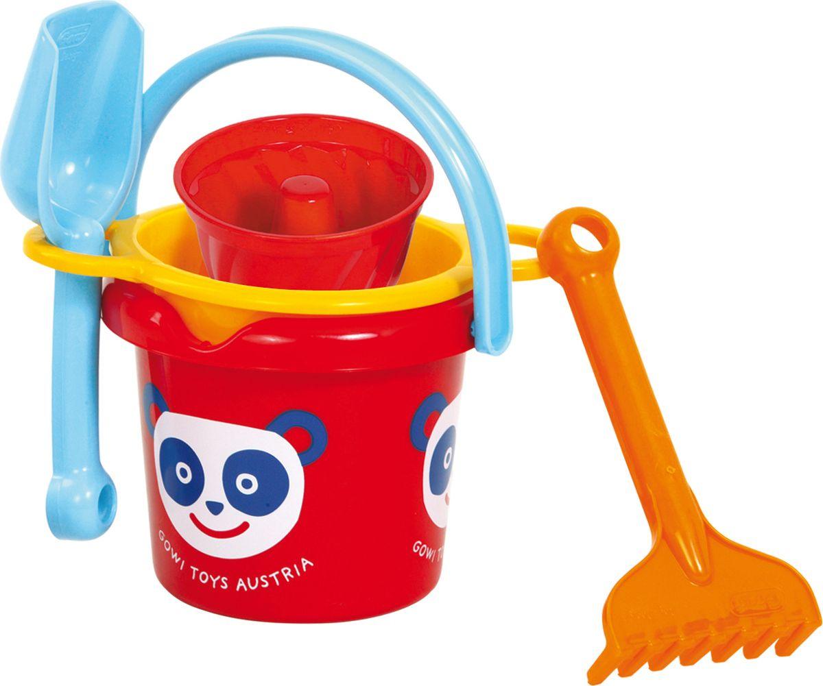 Фото - Gowi Набор игрушек для песочницы Ведерко грабли совочек формочка gowi набор игрушек для песочницы ручки и ножки 5 предметов