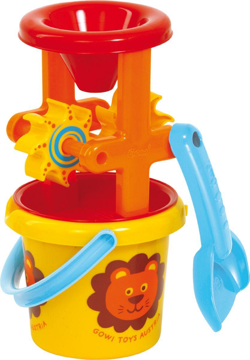 Gowi Набор игрушек для песочницы Набор для песка и воды 3 предмета развивающие игрушки gowi ведерко пирамидка 21 предмет