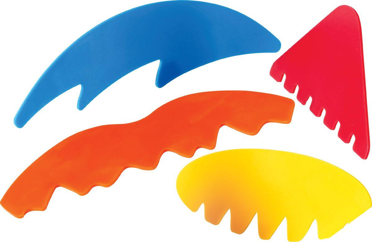 Фото - Gowi Набор скребков для песочницы 4 шт gowi набор игрушек для песочницы ручки и ножки 5 предметов