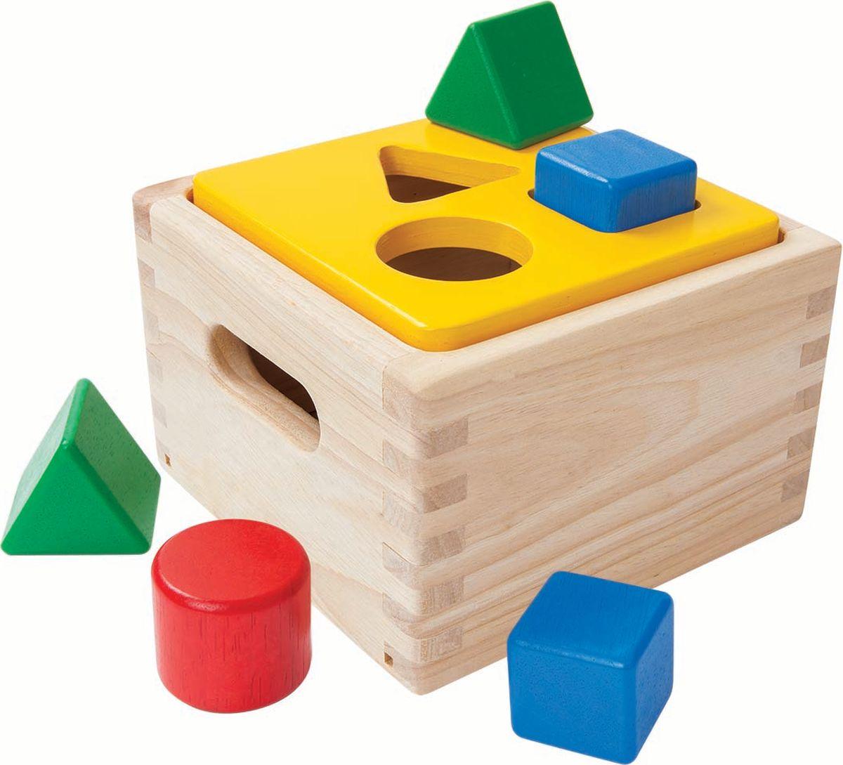 Plan Toys Сортер Блок для сортировки фигур