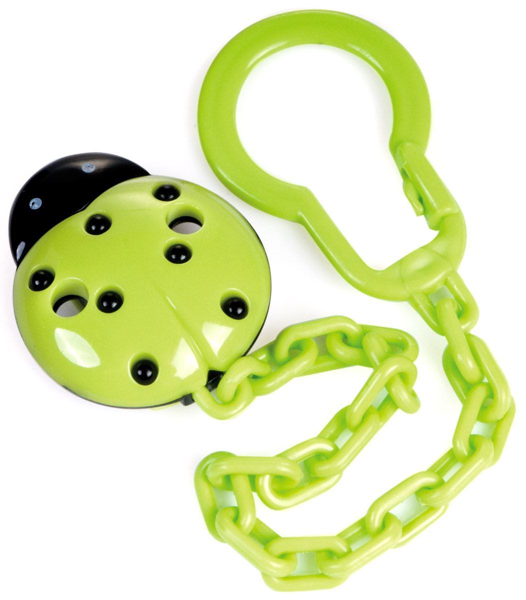 Canpol Babies Клипса-держатель для пустышки цвет зеленый canpol babies клипса держатель для пустышки самолетик