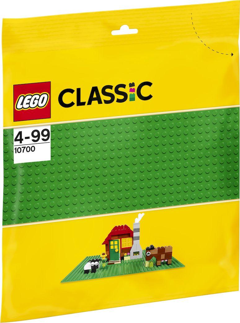 LEGO Classic 10700 Строительная пластина 25.5х25.5 выступа цвет зеленый Конструктор lego classic 10700 строительная пластина 32х32 выступа цвет зеленый конструктор