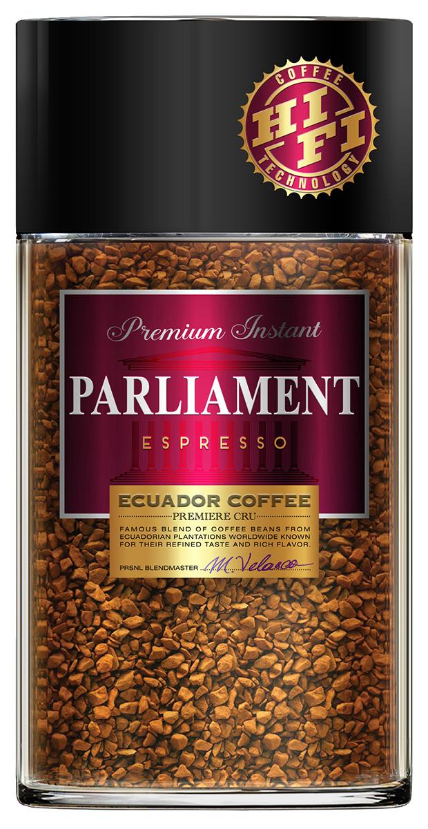 лучшая цена Parlament Espresso кофе растворимый, 100 г