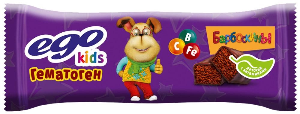 Ego Kids Гематоген Детский с витаминами Гена, 35 г
