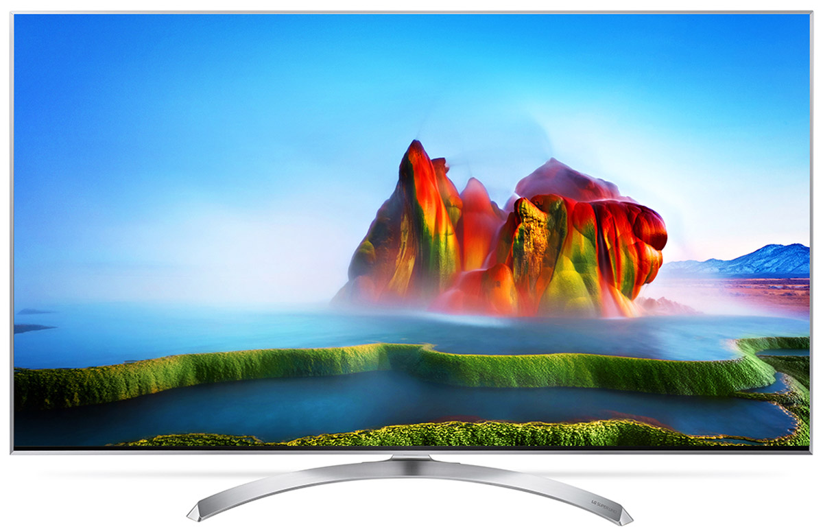 лучшая цена Телевизор LG 55SJ810V 55