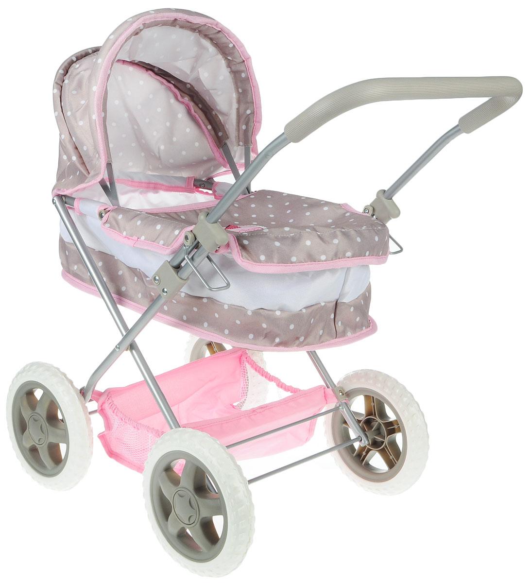 Bambolina Транспорт для кукол Классическая коляска (BD1612-M4) цены