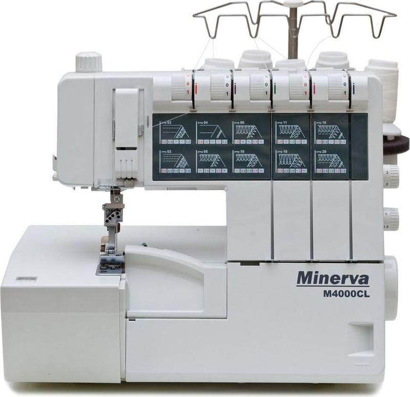 Коверлок Minerva M4000CL
