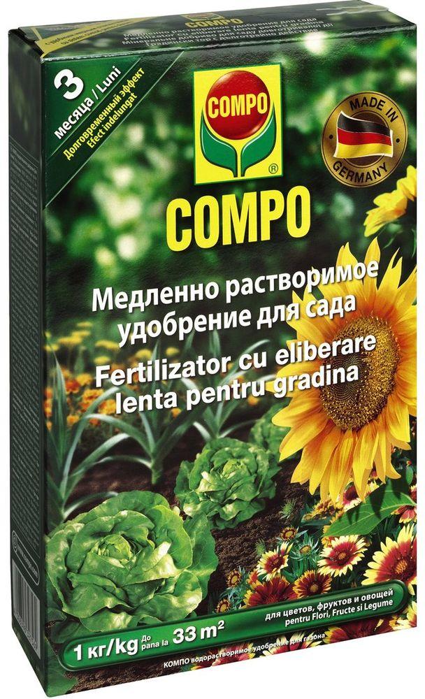 Удобрение растворимое Compo Sana, для сада sana beauty cafe
