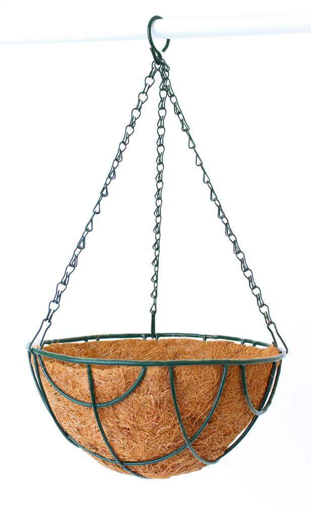 Кашпо подвесное Garden Show Сфера, с вкладышем из коковиты, диаметр 25 см вкладыш из коковиты garden show сфера в кашпо диаметр 35 см