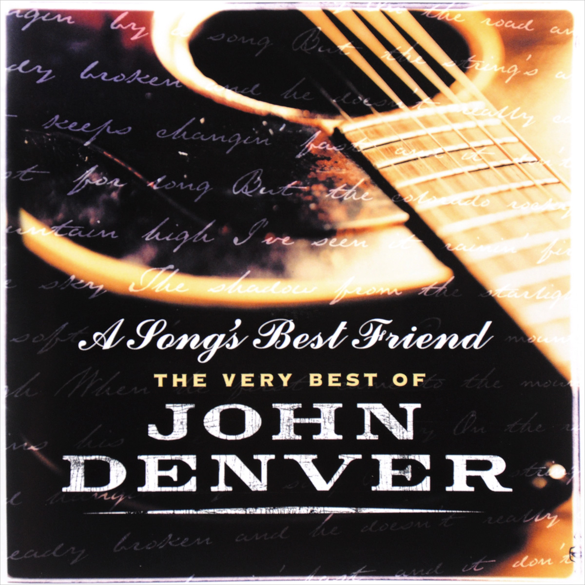 Джон Дэнвер John Denver. A Song's Best Friend. The Very Best Of (2 CD) sting fields of gold – the best of 1984–1994 cd