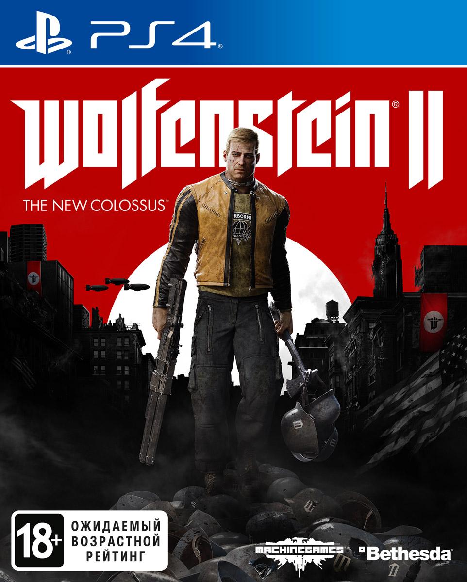 Игра Wolfenstein II: The New Colossus для PS4 Sony wolfenstein