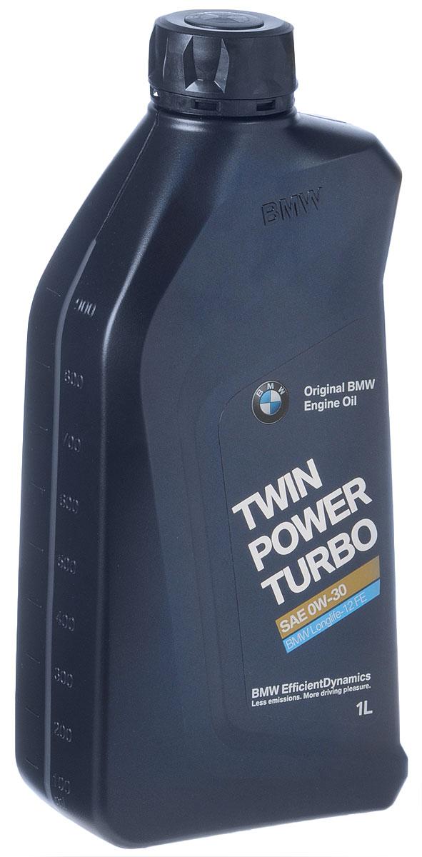 Масло моторное BMW Twinpower Turbo Oil Longlife-12 FE+, синтетическое, класс вязкости 0W-30, 1 л turbo cartridge chra gt2052v 710415 5003s 710415 710415 0003 turbocharger for bmw 525d e39 00 for opel omega b 2 5l m57d 163hp