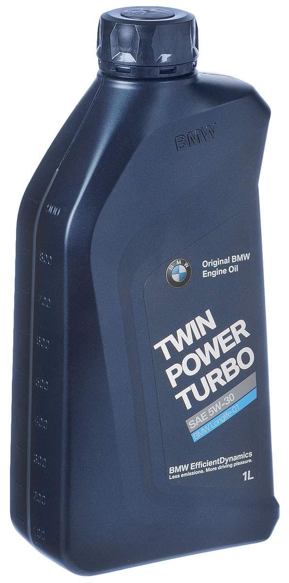"Масло моторное BMW ""TwinPower Turbo Longlife-01"", синтетическое, класс вязкости 5W-30, 1 л"