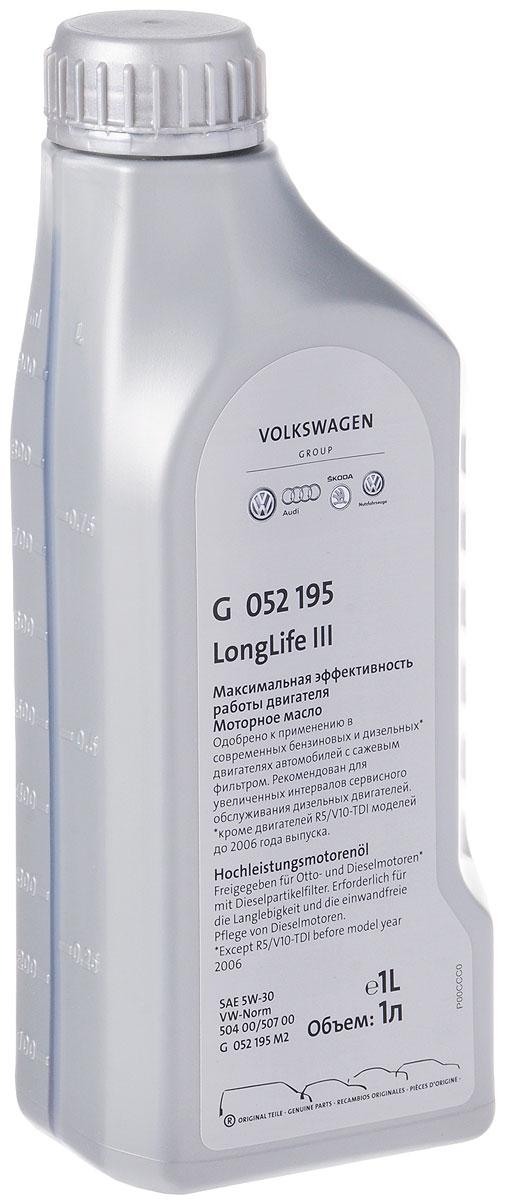 "Масло моторное ""VAG"", синтетическое, класс вязкости 5w-30, 1 л"