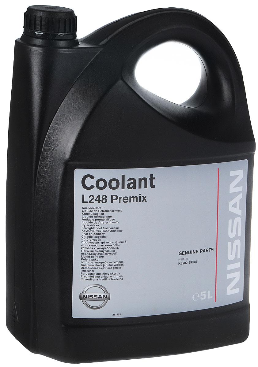 "Антифриз готовый Nissan ""Coolant L 248 Premix"", 5 л"