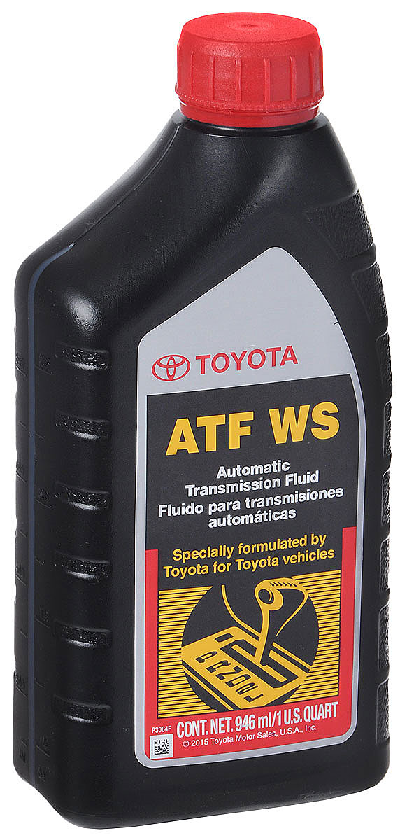 """Трансмиссионное масло Toyota """"ATF WS """", 1 л"""