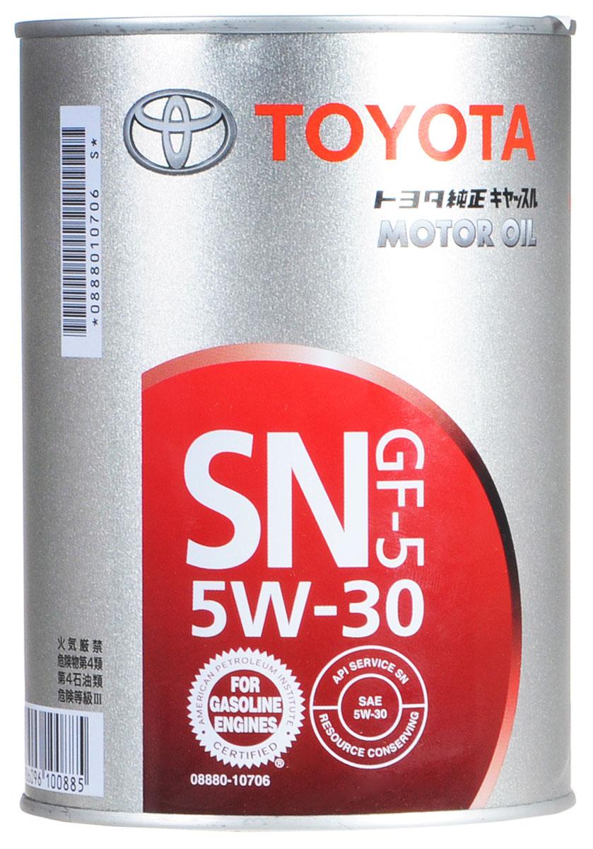 """Масло моторное """"Toyota"""", НС-синтетическое, класс вязкости 5W-30, 1 л"""