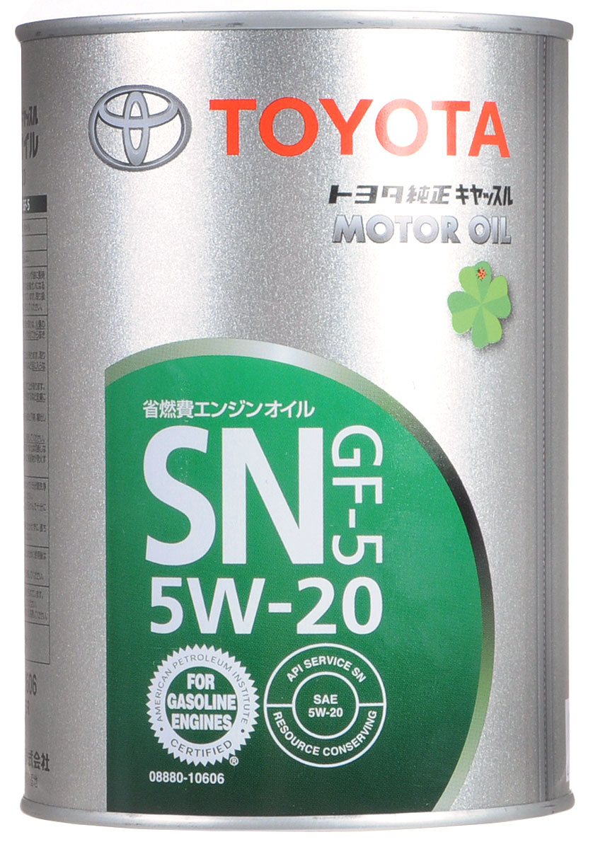 "Масло моторное ""Toyota"", синтетическое, класс вязкости 5W-20, 1 л"