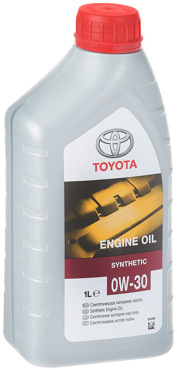 Масло моторное Toyota, синтетическое, класс вязкости 0W-30, 1 л мультитул victorinox 3 0239 l