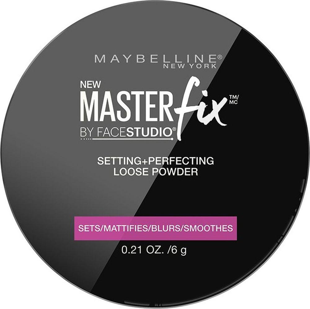 Maybelline New York Фиксирующая пудра для лица Master Fix, 6 г maybelline master holographic