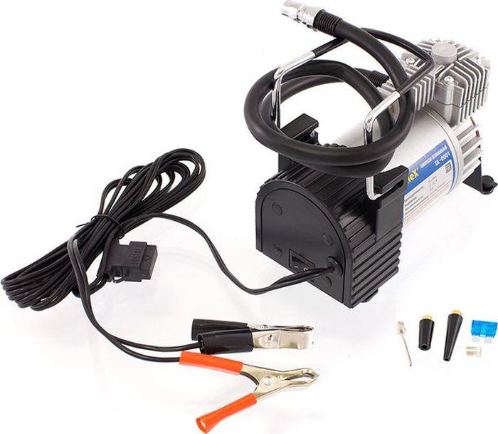 Компрессор автомобильный DolleX, с предохранителем и шлангом, 12V, 20 A, 150PSI, 55 л/мин