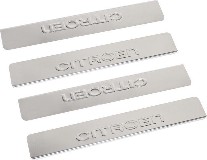 Накладки внутренних порогов DolleX, для CITROEN C4 (2013->), 4 шт липкая лента bondage tape