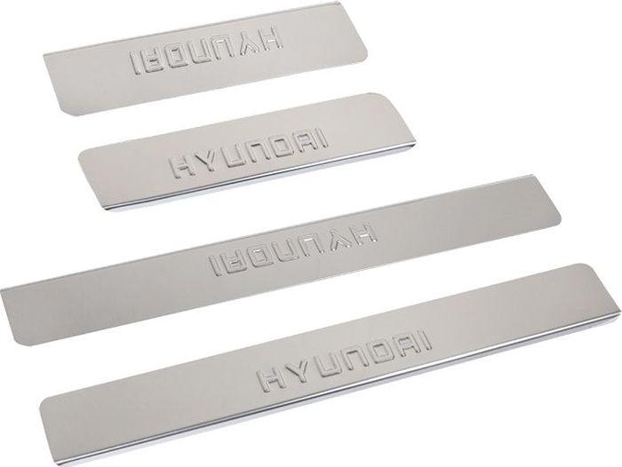 Накладки внутренних порогов DolleX, для HYUNDAI ix55 (2013->), 4 шт липкая лента bondage tape