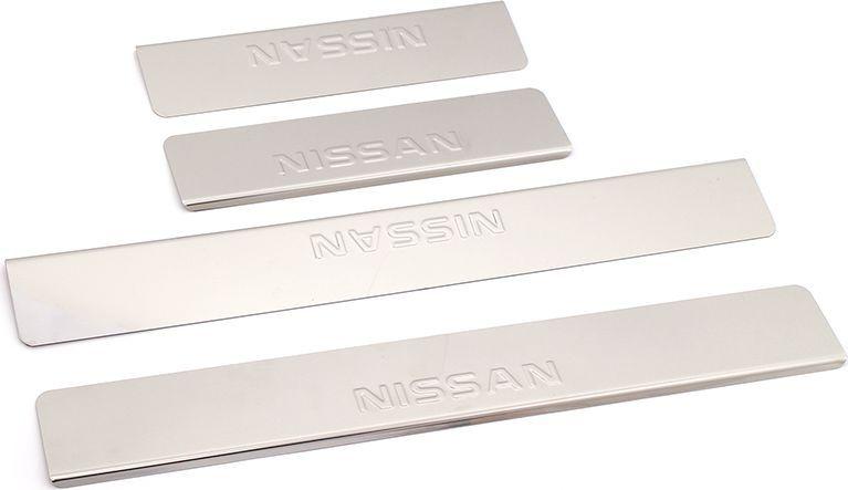 Накладки внутренних порогов DolleX, для NISSAN X-Trail 3 (2014->), 4 шт липкая лента bondage tape